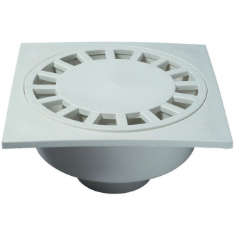 sp6025 bonde de sol blanche 20 x 20 cm wirquin pro. Black Bedroom Furniture Sets. Home Design Ideas