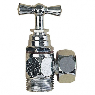 R21 robinet d 39 arr t querre wirquin pro - Robinet d arret wc ...